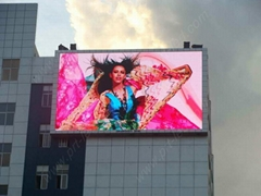 Pitch 10mm DIP full color outdoor led display