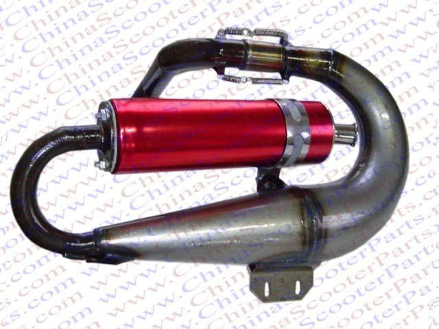 Scooter Performance parts  /Performance exhaust pipe for QingQi scooter  1