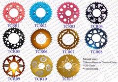 Dirt bike performance parts /CNC Rear Sprocket