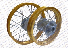 Dirt bike performance parts    /Color Alu Rim