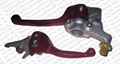 Dirt bike performance parts/CNC Folded Brake and clutch handle
