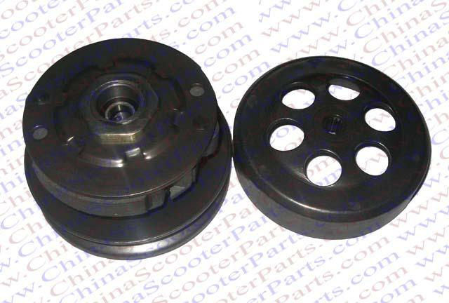 Chinese scooter parts/Clutch Kit 2 stroke 50CC Scooter