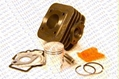 Scooter Performance Parts/Cylinder kit for 2 stroke Piaggio Typhoon scooter