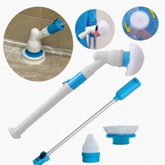 As seen on TV Hot selling Turbo scrub Spin Scrubber with 3 brushes