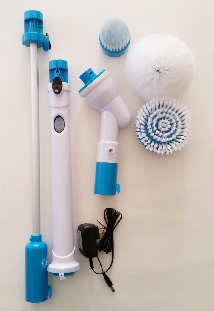 Good Quality Turbo Scrub 360 Degree Spin Scrubber Electric Bathroom Brush 1