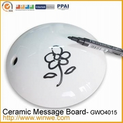Ceramic message board