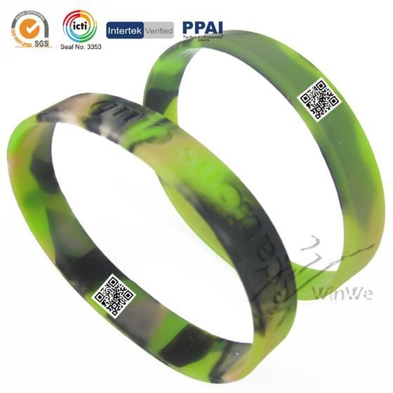 Camouflage Silicone Bracelets 3