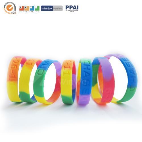 Camouflage Silicone Bracelets 5