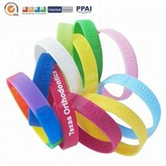 Rainbow Silicone Bracelets