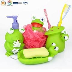 Froggie Bathroom Set