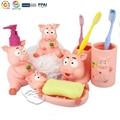 Piggy Bathroom Set