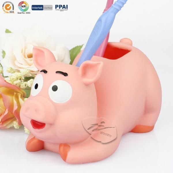 Piggy Bathroom Set 4