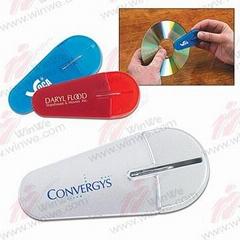 CD cleaner W/CD opener
