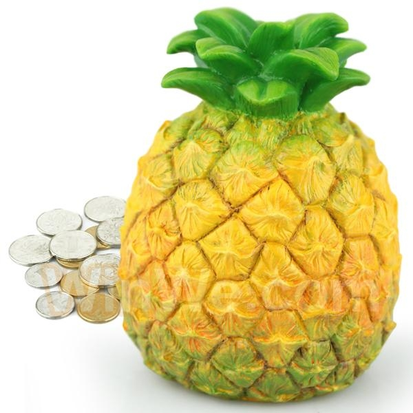 Plastic fruit money saving box 2