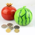 Plastic fruit money saving box 15