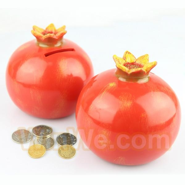 Plastic fruit money saving box 14