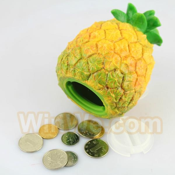 Plastic fruit money saving box 4
