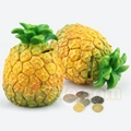 Plastic fruit money saving box