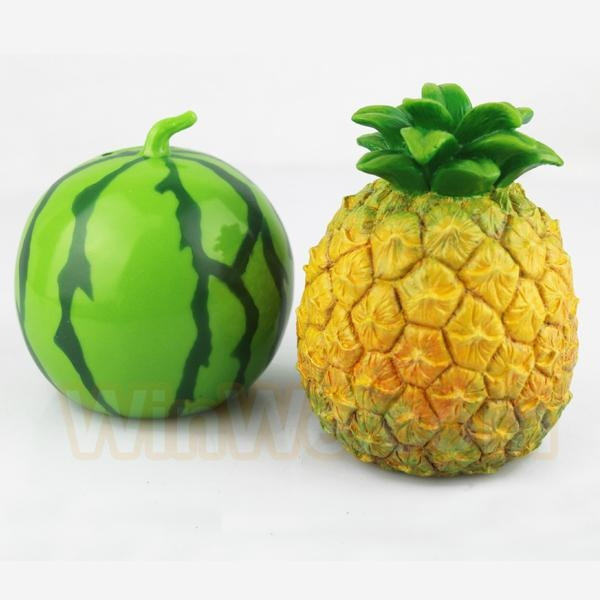 Plastic fruit money saving box 16