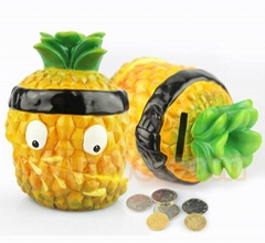 Promotional gift plastic money box