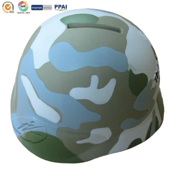 Troops shape money box