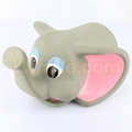 Elephant shape baby bath spout cover