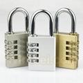 Combination lock digital padlock