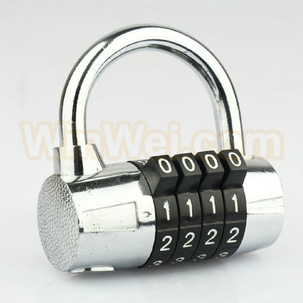 4 digit combination security padlock 1