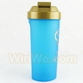 Shaker 1L water bottle with storage container