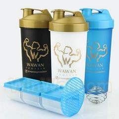 促销礼品蛋白质运动摇杯