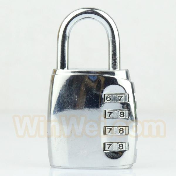 Luggage padlock
