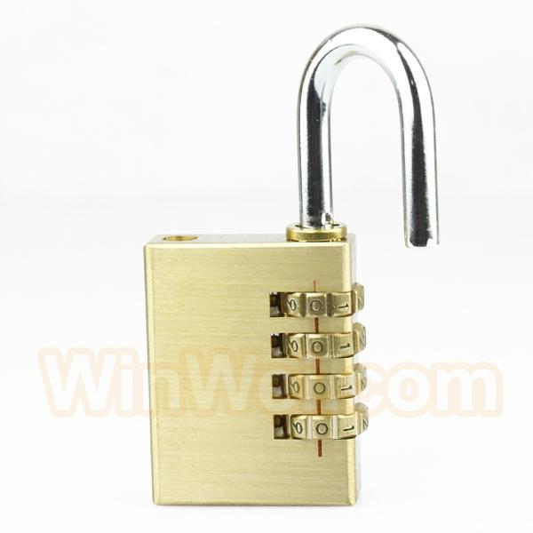 Brass Luggage lock