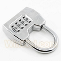4 digitals combination padlock coded lock 4