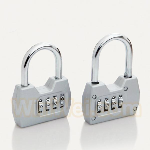 4 digitals combination padlock coded lock 2