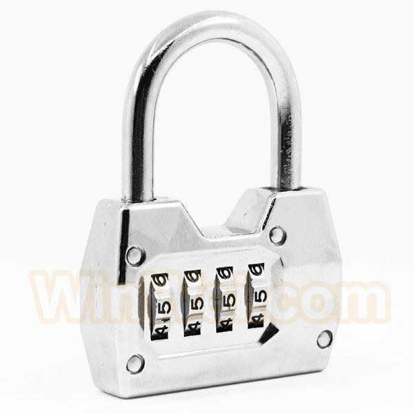 4 digitals combination padlock coded lock 7