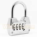 4 digitals combination padlock coded lock 7