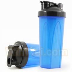 Bpa free gym fitness shaker bottle