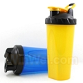 Bpa free gym fitness shaker bottle
