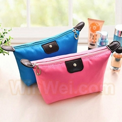 Promotion Zipper Large Cosmetic Bags With Travel Wash Gargle Bag