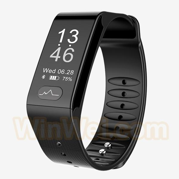 Bluetooth Smart Band Wristband Heart Rate Monitor IP66 Waterproof Bracelet 1
