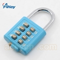 Sport fitness steel padlock uncuttable and unbreakable padlock 2