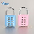 Sport fitness steel padlock uncuttable and unbreakable padlock