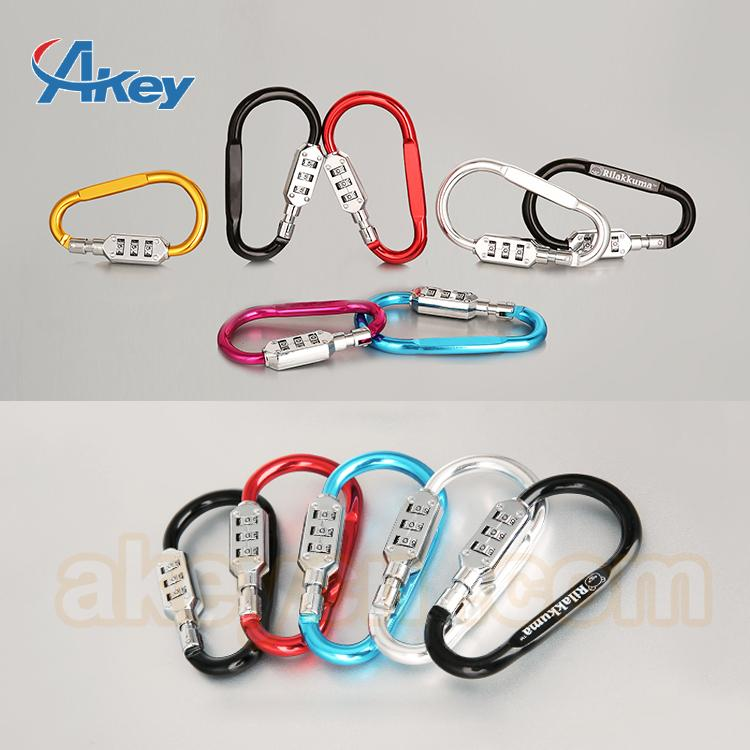 Camping hiking carabiner climbing lock safety 5
