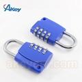 High quality safety zinc alloy lock digit padlock