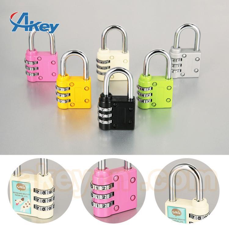 Hot sale mini code handbag number padlock 2