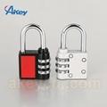 Hot sale mini code handbag number padlock 3