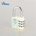 Hot sale mini code handbag number padlock 5