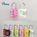 Hot sale mini code handbag number padlock 6