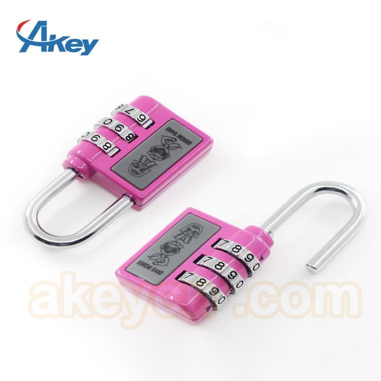 Hot sale mini code handbag number padlock 1