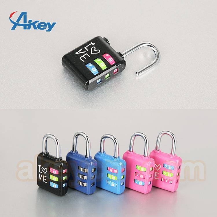 Professional supplier digital fashion mini locks for handbags 2